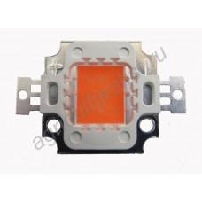 Красный COB светодиод 10 Вт в биколорные светильники для растений