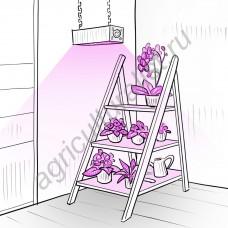 """Светильник для растений в оранжереях """"Зосма"""" 63Вт"""